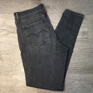Levi's High-Rise Skinny 721 grey jeans